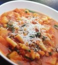 Minestrone in a slow cooker