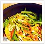Simple & versatile veggie stirfry